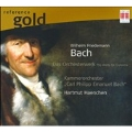 W.F.Bach: Orchestral Works / Hartmut Haenchen, C.P.E.Bach Chamber Orchestra