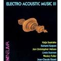 Electro Acoustic Music III