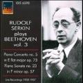 """Beethoven: Piano Concerto No.5 Op.73, Piano Sonata No.23 Op.57 """"Appassionata"""""""