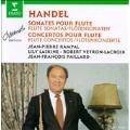 Handel: Flute Sonatas, Flute Concertos / Jean-Pierre Rampal