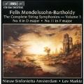 Mendelssohn: Complete String Symphonies Vol 3 / Lev Markiz