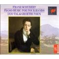 Schubert: Piano Music Four Hands Vol 1 / Tal & Groethuysen