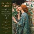 パリー: イギリスの抒情詩による12の歌曲集 第1集