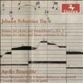 J.S.Bach: Sonatas For Violin And Harpsichord