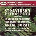 Stravinsky: Petrouchka, Le Sacre du printemps, etc / Dorati
