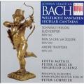 Bach: Secular Cantatas BWV 36c, 209, 203 / Schreier