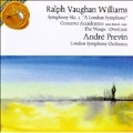 "Vaughan Williams:Symphony No.2 ""London""/The Wasp/Concerto Academico:Andre Previn(cond)/London Symphony Orchestra"