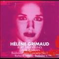 Brahms: Piano Concerto No.1; R.Strauss: Burleske /  Helene Grimaud(p), Kurt Sanderling(cond), Staatskapelle Berlin
