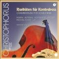 Rarities for Contrabass; Bottesini, Sperger, Beethoven, Hoffmeister, etc / Gerhard Dzwiza(cb), Klaus Stoppel(vn), Celine Dutilly(p), etc