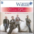 Paganini: 24 Caprices - Arranged by William Zinn for String Quartet