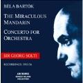 Bartok: The Miraculous Mandarin (5/11/1956), Concerto for Orchestra (8/9/1955) / Georg Solti(cond), Hessen Radio SO, WDR SO