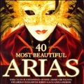 40 Most Beautiful Arias / Luciano Pavarotti(T), Maria Callas(S), Placido Domingo(T), Bryn Terfel(Br), etc