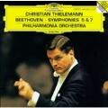 Beethoven: Symphonies 5 & 7 / Thielemann, Philharmonia