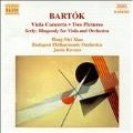 Bartok: Viola Concerto, etc;  Serly: Rhapsody /Xiao, Kovacs
