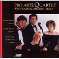 Pro Arte Quartet with Samuel Rhodes