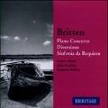 Britten: Piano Concerto, Diversions, Sinfonia da Requiem