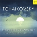 "Tchaikovsky: Sympnony No.4, No.5 & No.6 ""Pathetique"""