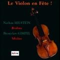 ブラームス: ヴァイオリン協奏曲 Op.77、シベリウス: ヴァイオリン協奏曲 Op.47