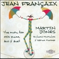 J.Francaix: The Music for Solo Piano, Duo & Duet