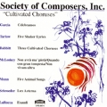 Society of Composers, Inc. - Cultivated Choruses