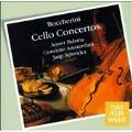 Boccherini : Cello Concertos / Anner Bylsma(vc), Jaap Schroder(cond), Concerto Amsterdam Ensemble