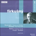Schubert: 3 Piano Pieces D.946; Martinu: Fantasie & Toccata H.281; Mussorgsky: Pictures at an Exhibition, etc (2/21/1980/Live) / Rudolf Firkusny(p)
