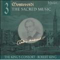 Monteverdi: Sacred Music Vol 3 / Robert King, King's Consort