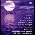 A.R.Thomas: Aureole, Carillon Sky, Words of the Sea, Terpsichore's Dream, In My Sky at Twilight, etc