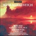 Berlioz: Harold en Italie Op.16 (1956); Beethoven: Leonore Overture No.3 (1957), etc / Igor Markevitch(cond), BPO, Lamoureux Concert Orchestra