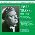 Dokumente eine Sangerkarriere: Josef Traxel