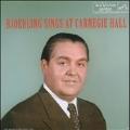 Jussi Bjorling Sings at Carnegie Hall