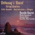 Debussy & Ravel - String Quartets, Cello Sonata, Introduction & Allegro