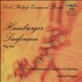 C.P.E.Bach: Hamburger Sinfonien Wq.182