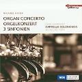 M.Haydn: Organ Concerto, 3 Sinfonien