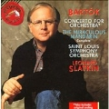 Bartok: Concerto for Orchestra, Miraculous Mandarin/ Slatkin