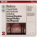 Brahms: Choral Works & Overtures / Sawallisch, Vienna SO