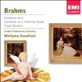 Brahms: Symphony no 1, etc / Sawallisch