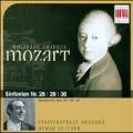 Mozart: Symphonies no 28, 29, 30 / Suitner