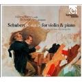 Schubert: Sonatas (Sonatines) for Violin & Piano No.1-4:Andrew Manze(vn)/Richard Egarr(p)