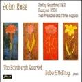 J.Rose: String Quartets No.1, No.2, Essay on DSCH Op.7, etc