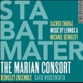 Stabat Mater - Sacred Choral Music by Lennox & Michael Berkeley