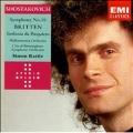 Shostakovich: Symphony no 10;  Britten: Sinfonia da Requiem