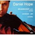 Shostakovich: Violin Sonata Op.134; Penderecki :Cadenza for Solo Violin; A.Part: Mirror in the Mirror, etc (8/5-7/1999) / Daniel Hope(vn), Simon Mulligan(p)