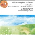 Vaughan Williams: Symphony no 5, Portraits / Previn, LSO