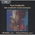 Hindemith: The Complete Violin Sonatas / Wallin, Poentinen