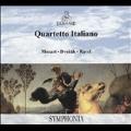 Mozart: String Quartet No.15; Dvorak: String Quartet No.12; Ravel: String Quartet