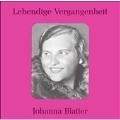 Lebendige Vergangenheit - Johanna Blatter