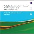"Prokofiev: Symphony No.1 Op.25 ""Classical""; Haydn: Symphony No.1; Bizet: Symphony in C"