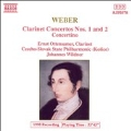 Weber: Works for Clarinet and Orchestra