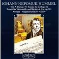 Hummel: Kammermusik / Adorjan, Pergamenschikow, Gililov
